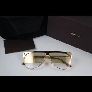 Brand new gold plated TomFord sunglasses